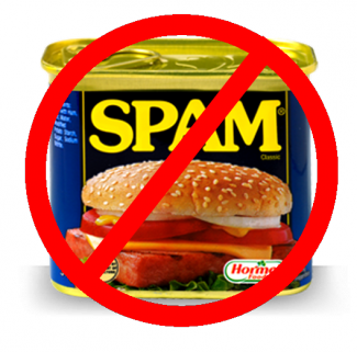Say NO to SPAM 325x321